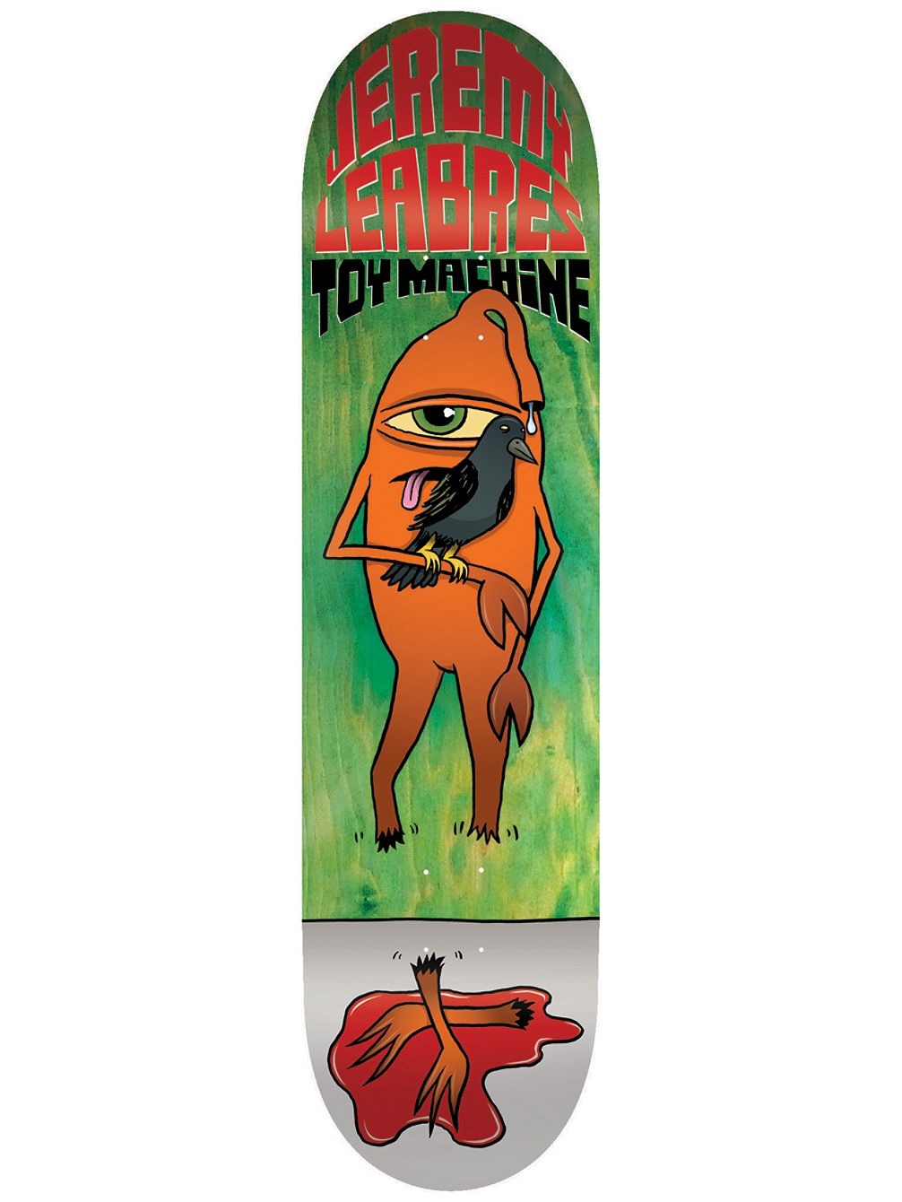 Leabres Chopped 8.5'' Skateboard Deck