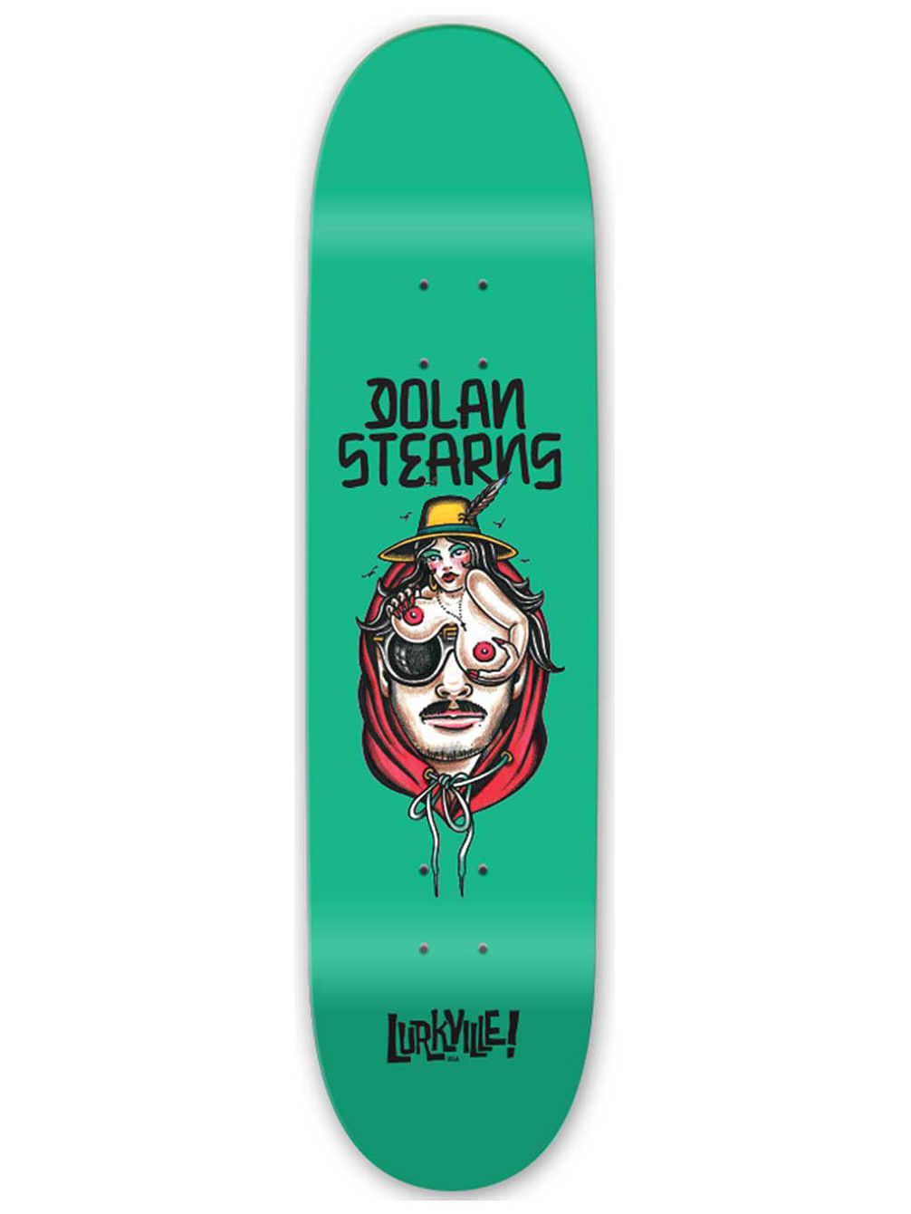 Stearns TT 8.5'' Skateboard Deck