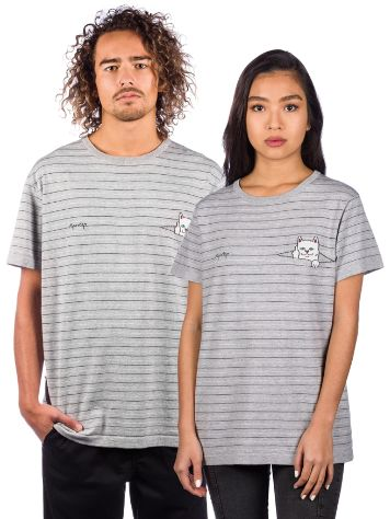 Rip N Dip Peeking Nermal Jaquard Knit T-Shirt