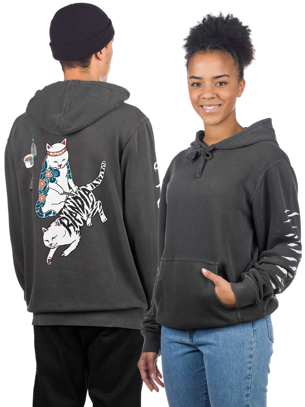 Tattoo Nerm Pullover Hoodie