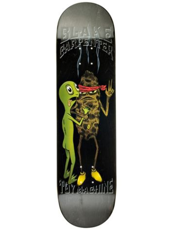 "Toy Machine Carpenter Doubting Turtle 8.25"" Skate Deck"
