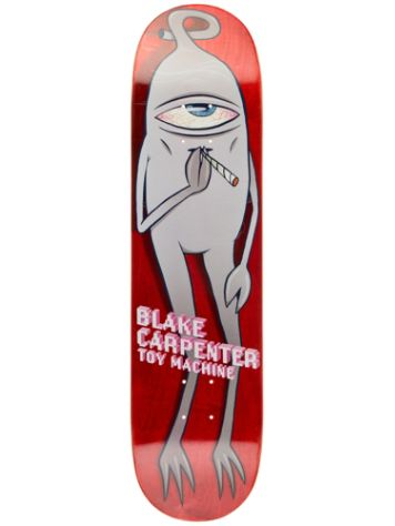 "Toy Machine Carpenter Smoke Em 8.0"" Skate Deck"