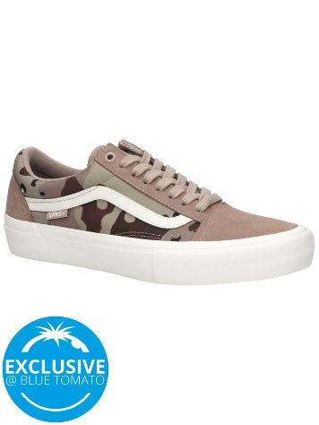 Vans Desert Camo Old Skool Pro Skate Shoes