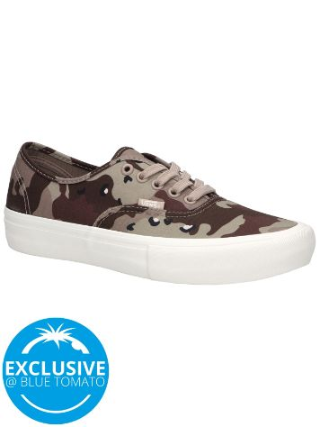 Vans Desert Camo Authentic Pro Skate Shoes