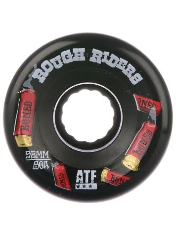 Bones Wheels ATF Rough Riders Shotgun 80A 56mm Wheels