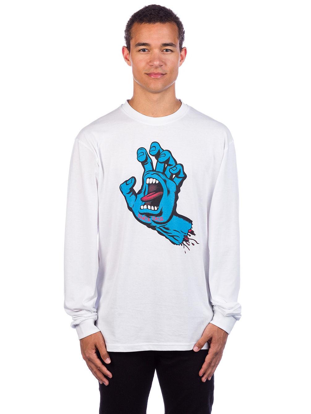 4aa625b1 Buy Santa Cruz Screaming Hand Long Sleeve T-Shirt online at Blue Tomato