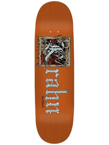 Blood Wizard The Book Of The Wizard 8.125'' Skateboar