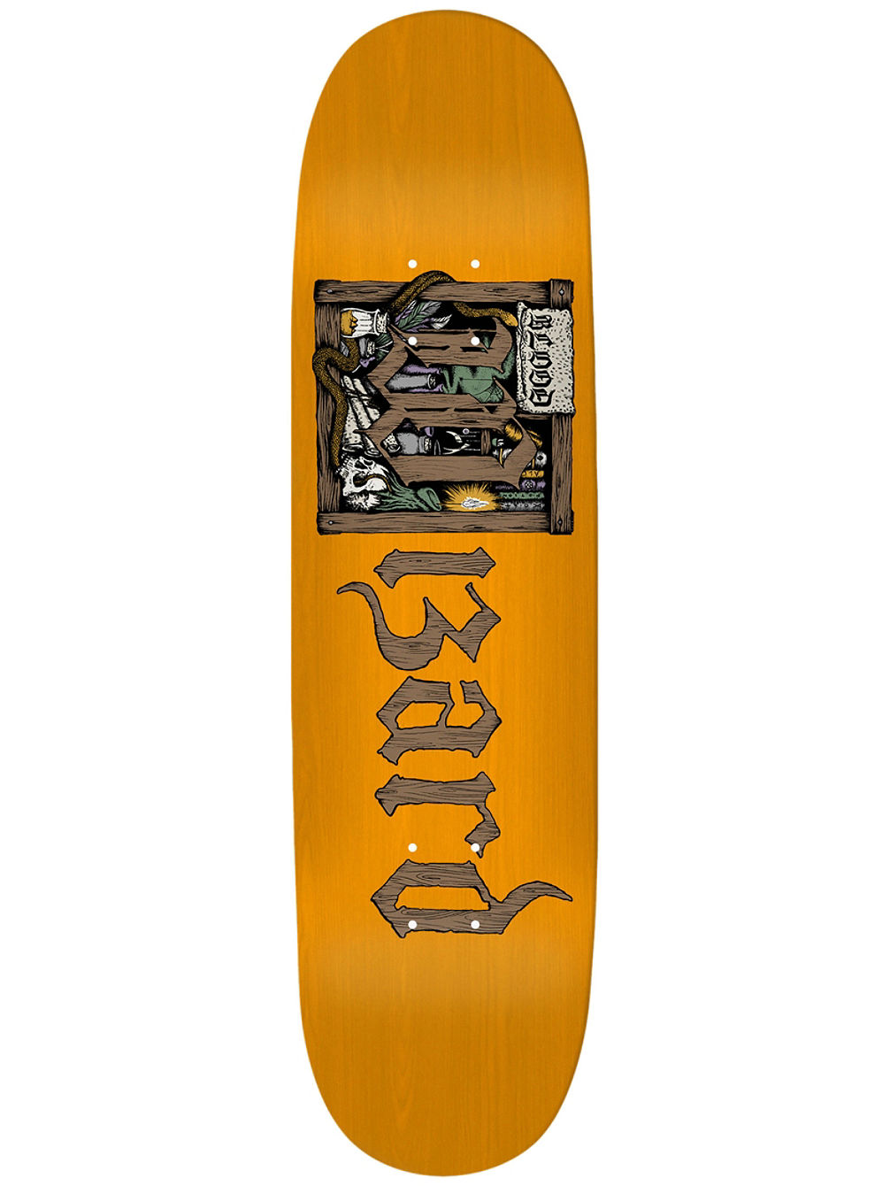 The Book Of The Wizard 8.25'' Skateboard