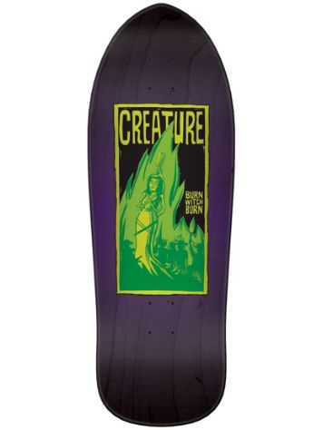 Creature Burn Witch Burn Relic 9.8'' Skateboard D