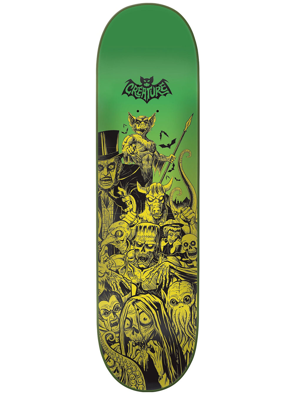 Batty Hard Rock Maple 8.3'' Skateboard D