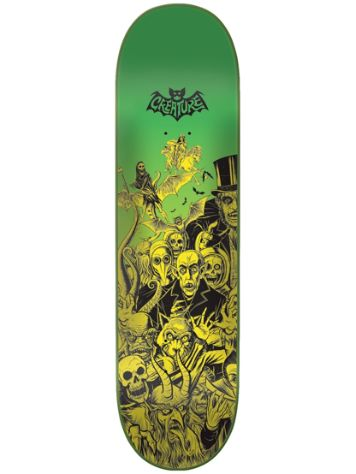 Creature Batty Hard Rock Maple 8'' Skateboard Dec
