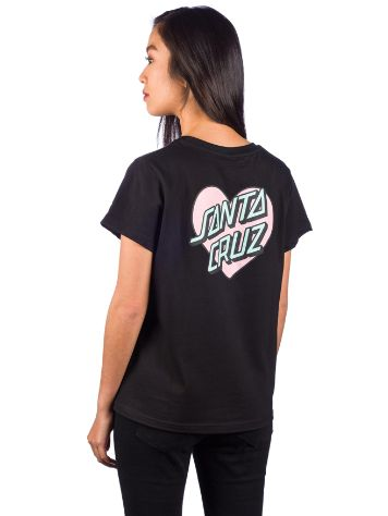 Santa Cruz Heart Dot T-Shirt