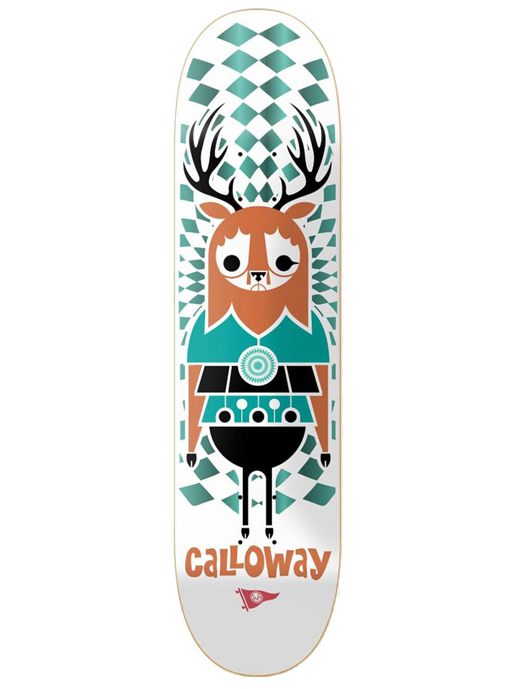 Calloway Pendleton Zoo 8.5'' Skateboard