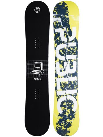 Public General 153 Hybrid Camber Snowboard
