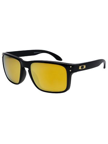 Oakley Holbrook Polished Black 24kIridium Sonnenbrille