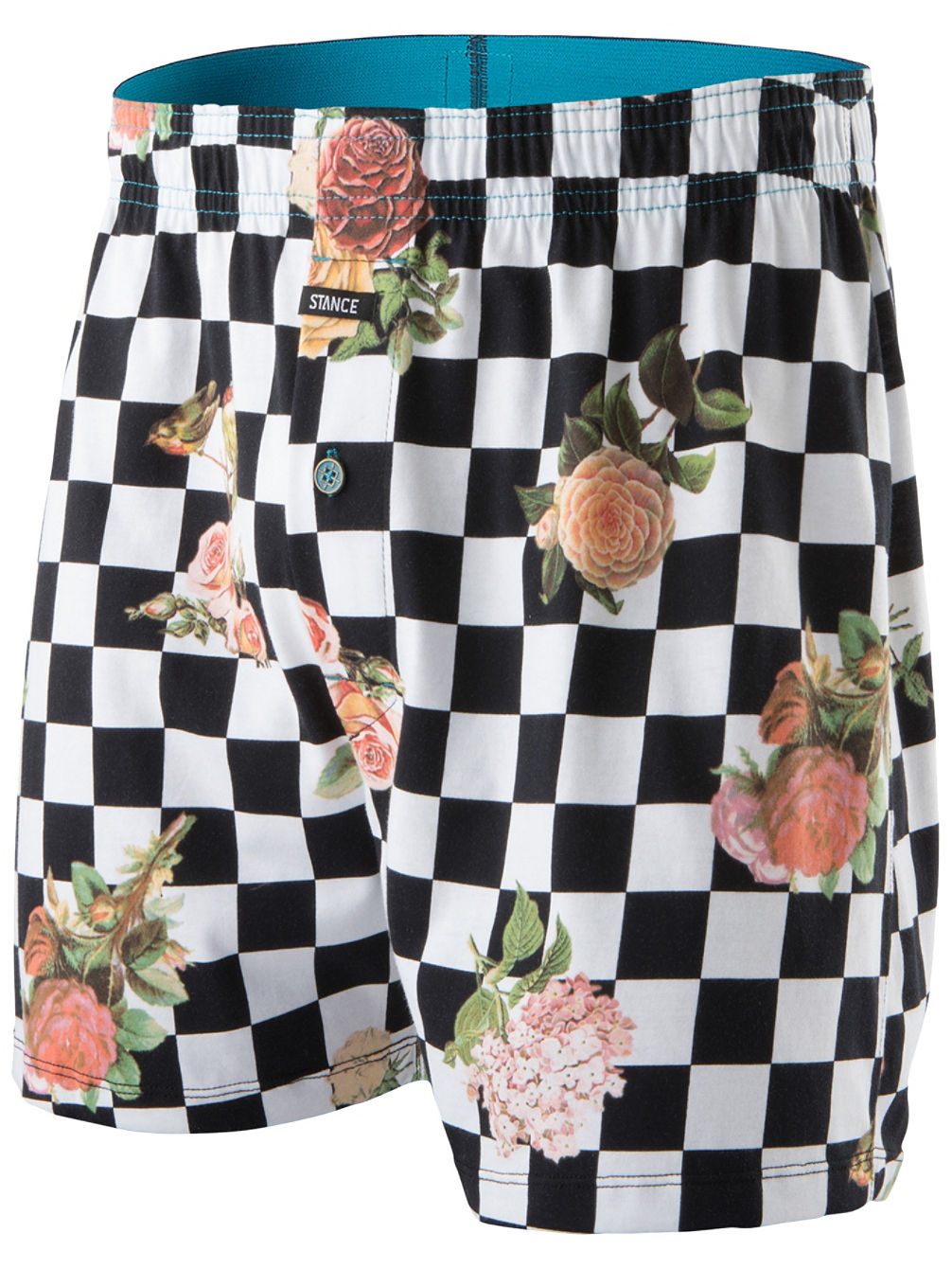 Floral Check Out BX Boxershorts