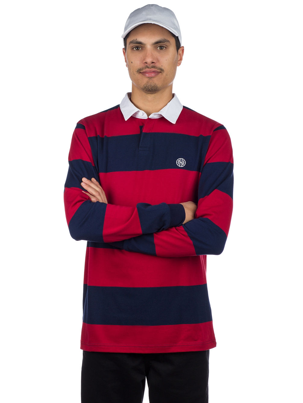 5732559a3 Buy Ninth Hall Ruggers Rugby Polo Long Sleeve T-Shirt online at Blue ...