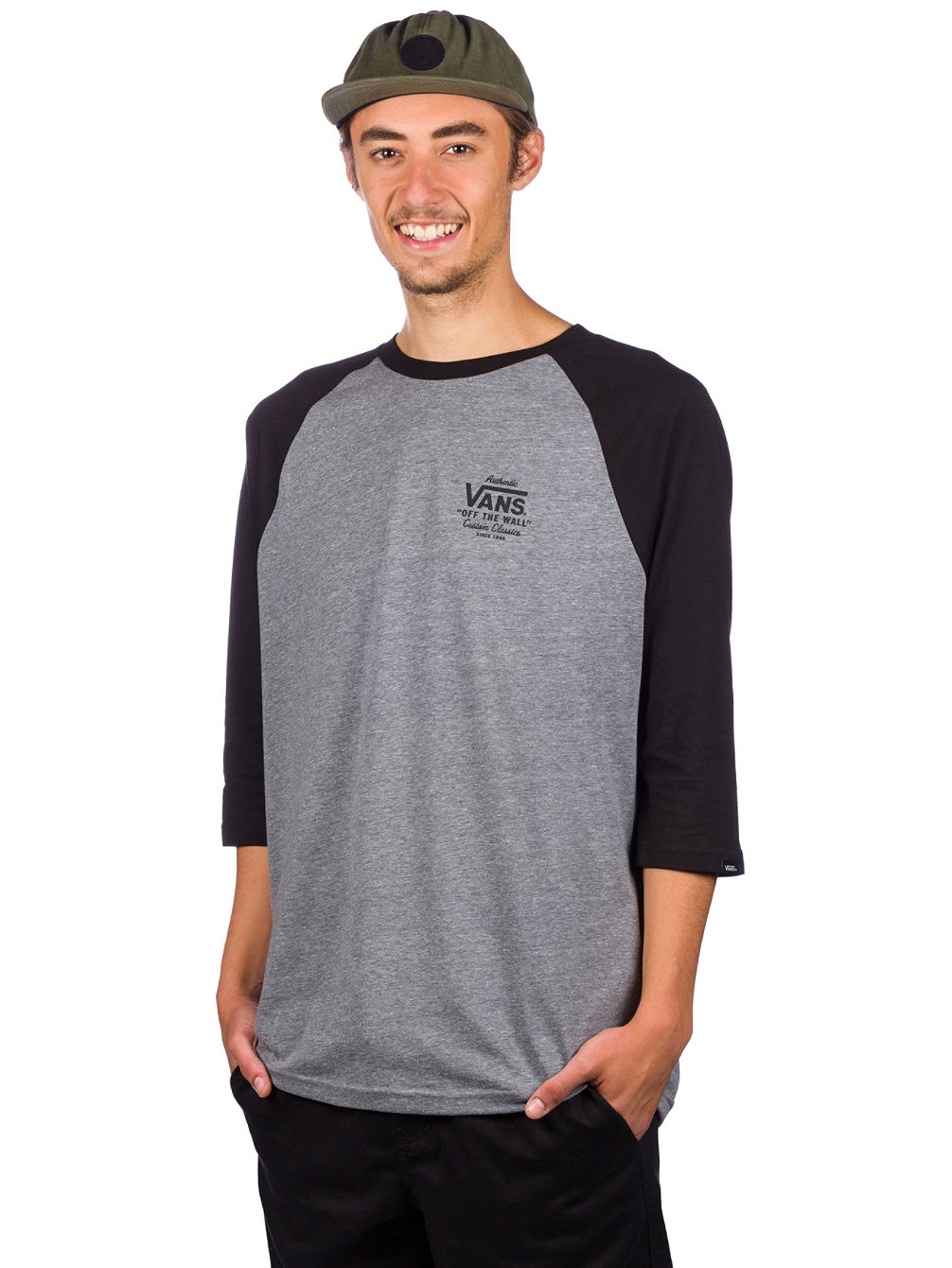 6ce6b9b5f6 Buy Vans Holder St Raglan Long Sleeve T-Shirt online at Blue Tomato