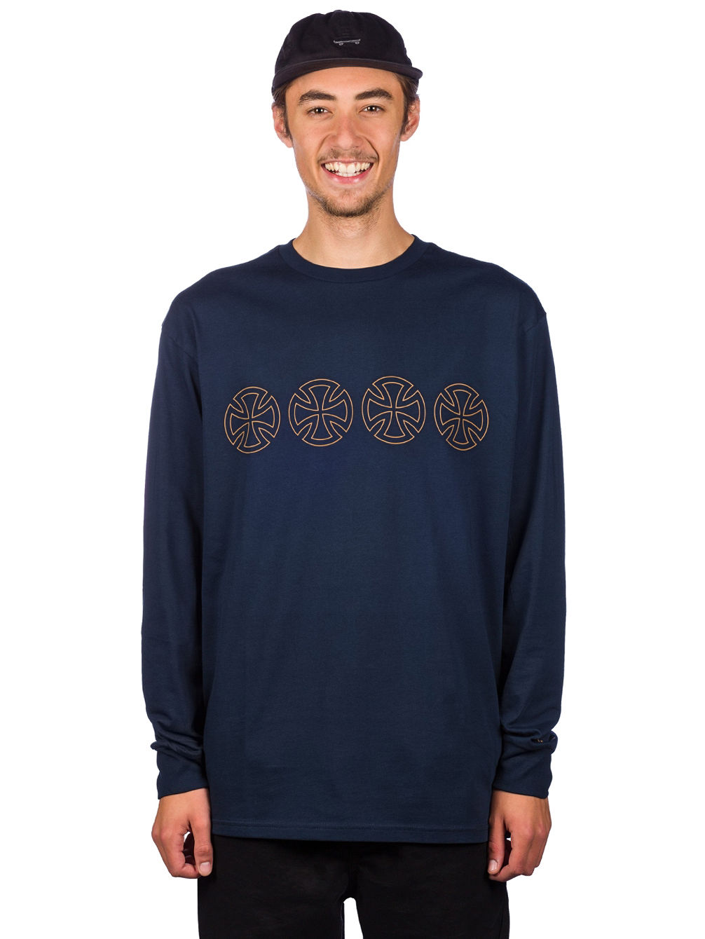 5d49d4e58 Buy Vans X Independent Iron Cross Long Sleeve online at Blue Tomato
