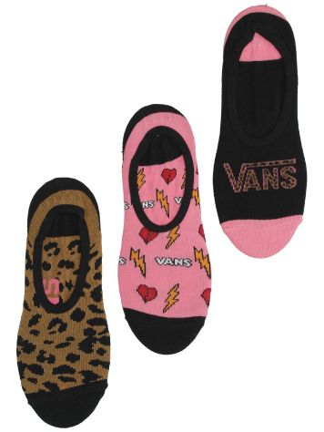 Vans Animal House Canoodles 7-10 3Pk Calcetines
