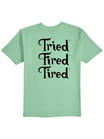Tired Fired Stack T-Shirt