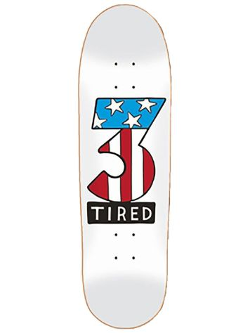 "Tired Number Three On Deal 8,75"" Skateboard Deck"