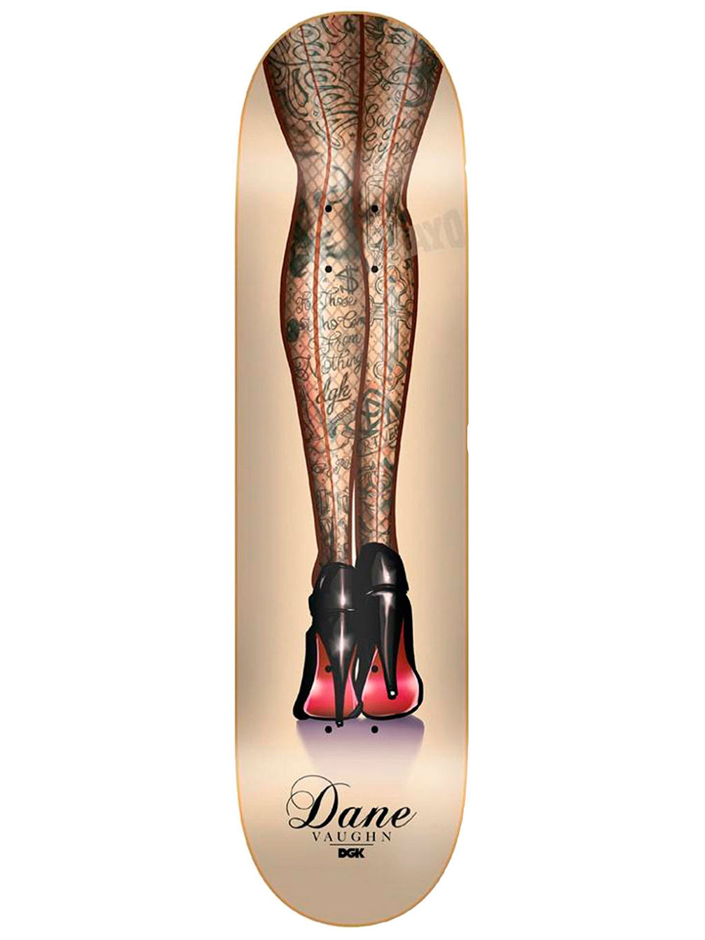 "Dane Goddess 8.1"" Skateboard Deck"