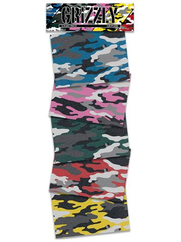 Grizzly Camo Squares Pack Grip Tape Grip Tape
