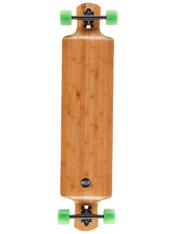"Nice Skateboards Bamboo Dropdown Shop Modell"" 42 x 9,5"" Compl"