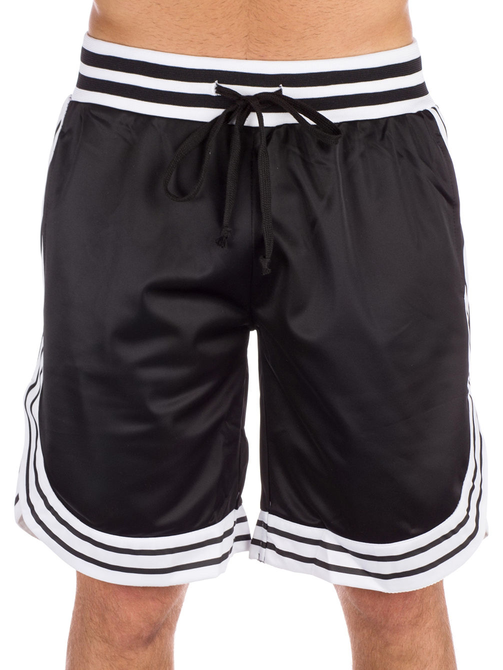 Tricot Stripe Shorts