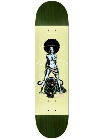"Real Zion Queen Glow LTD 8.25"" Skateboard Deck"