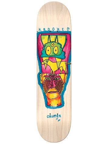 "Krooked Cromer Crowned 8.25"" Skateboard Deck"