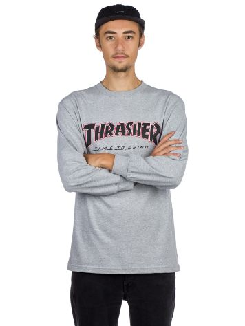 Independent Thrasher Ttg T-Shirt LS