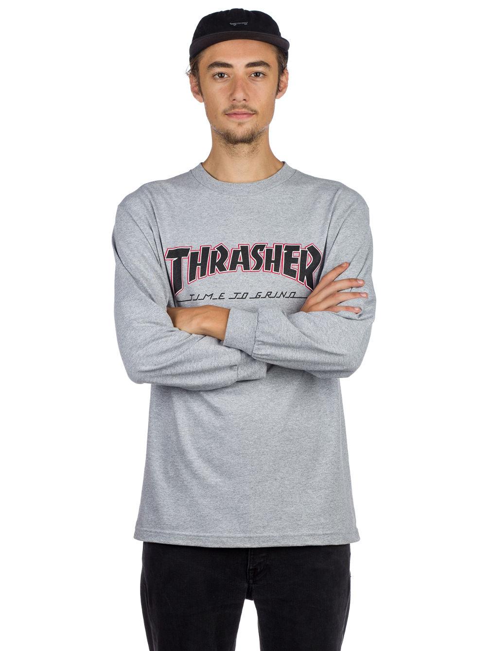 dbbf70d1 Buy Independent X Thrasher Ttg Long Sleeve T-Shirt online at Blue Tomato
