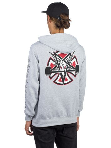 Independent X Thrasher Pentagram Cross Sudadera con capucha