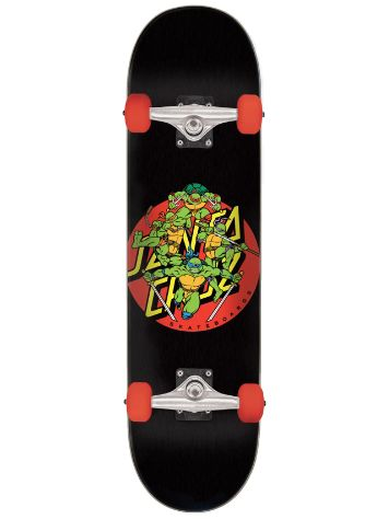 "Santa Cruz X TMNT Turtle Power 8"" Complete"