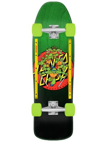 "Santa Cruz X TMNT Turtle Power 9.35"" Complete"