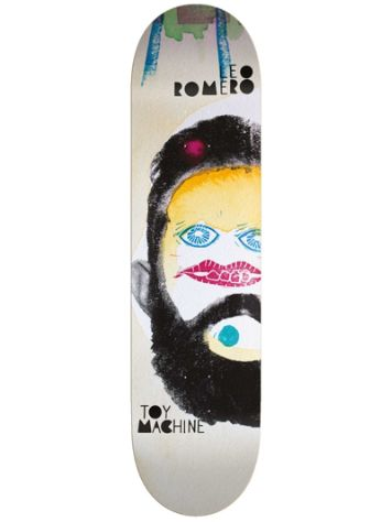 "Toy Machine Romero Abstract 8.25"" Skateboard Deck"