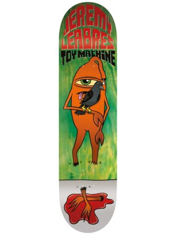 "Toy Machine Leabres Chomped 8.5"" Skateboard Deck"
