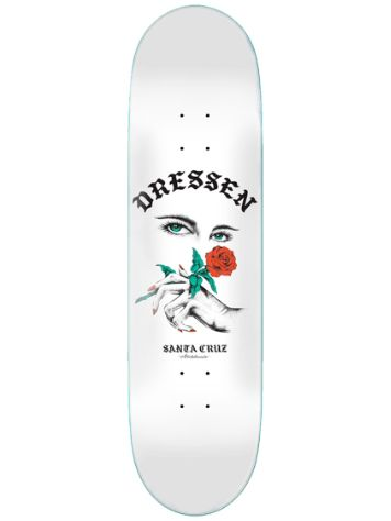 "Santa Cruz Dressen Rose Kit Taper Tip 8.25"" Skateboard"