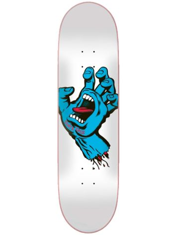 "Santa Cruz Screaming Hand Taper Tip 8"" Skateboard Deck"