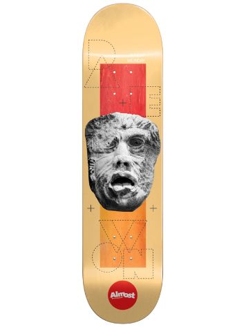 "Almost Stone Head Impact Light 8.0"" Skateboard Deck"
