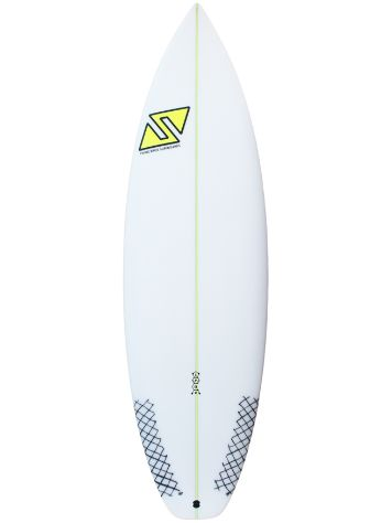 Twins Bros Speed EPS FCS2 5.8 Surfboard
