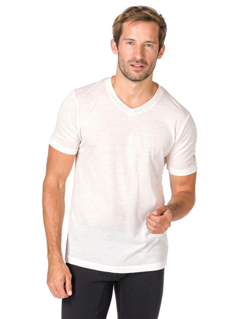 Base V Neck 140 Funktionsshirt