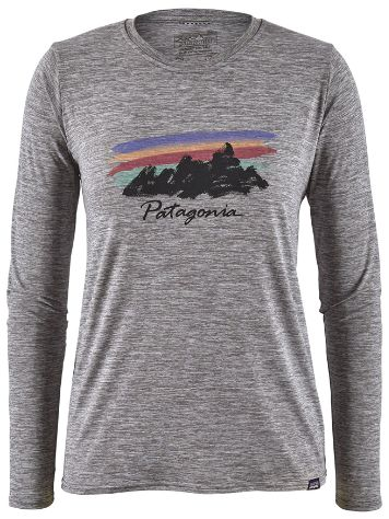 Patagonia Cap Cool Daily Graphic Longsleeve Lycra