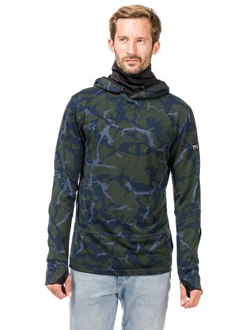 super.natural Mountain Printed Hoodie