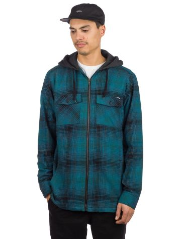 Empyre Retreat Hooded Flannel Shirt LS