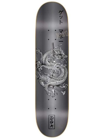DGK Get Money Black 8.38'' Skateboard Deck