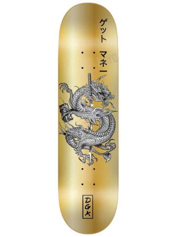DGK Get Money Gold 8.06'' Skateboard Deck