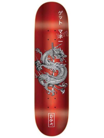 DGK Get Money Red 8.1'' Skateboard Deck